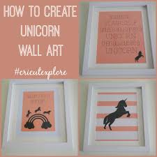 Make Wall Decorations At Home by How To Create Unicorn Wall Art Unicorn Wall Art Children S And