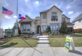 Drees Homes Floor Plans Texas Drees Custom Homes Model Home In Phillips Creek Ranch Frisco