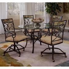 hillsdsale pompeii caster dining chair set of 2 walmart com