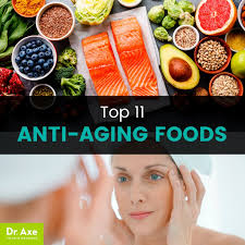 top 11 anti aging foods how to get them in your diet dr axe