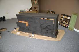 Black Distressed Bedroom Furniture by 73 The Best Gray Distressed Dresser Home Design Furniture Grey Diy
