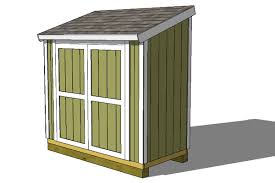 How To Build A Garden Shed Ramp by 4x8 Lean To Shed For The Garage Pinterest Storage Yards And
