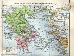 Oldest Map Of North America by Historical Map Of Ancient Greece During The Time Of The Persian