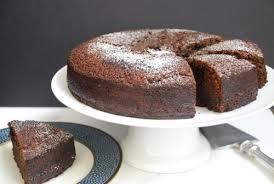 chocolate irish whiskey cake in an irish home