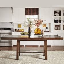 Counter Height Extendable Dining Table Bartol Warm Brown Mission Counter Height Extending Dining Table
