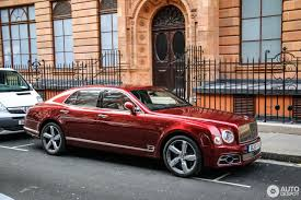 bentley red 2016 bentley mulsanne speed 2016 30 june 2017 autogespot