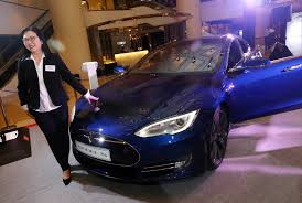 tesla jake paul tesla is letting drivers in hong kong trade in their used cars for
