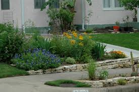 sidewalk landscaping ideas and curb pictures images front