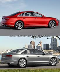 2018 audi a8 vs audi 2014 audi a8 old vs new right side