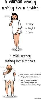 But But Meme - woman vs a man wearing nothing but a t shirt meme viral viral videos