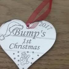 Baby S First Christmas Photo Bauble by Bump U0027s First Christmas Tree Decoration Bauble Mum To Be Gifts