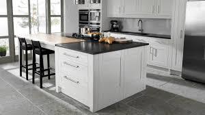 wood floor white kitchen custom home design