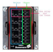 diy bussmann rtmr fuse block part 4 u2013 wiring and schematics