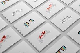 custom card template business card mockup template free free