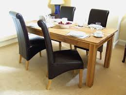 natural wood kitchen table and chairs the best 52 photo solid oak dining room table phenomenal