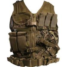 ocp siege cross draw molle tactical vest multicam rothco tactical vest