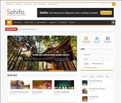 sahifa theme rar top 10 responsive blogger templates free download 2018 updated
