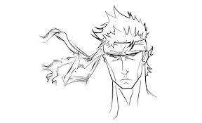 solid snake original drawing by aaronminier by dirtyblup on