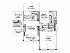 Small House Plans Under 1500 Sq Ft One Story House Plans With Open Concept Eva U2013 1 500 Square Feet