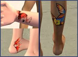 on leg and wrist small koi fish tattoo tattooshunter com