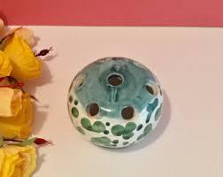 Frog Flower Vase Flower Frog Vase Etsy