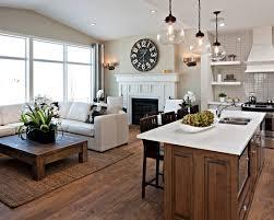 Open Plan Kitchen Living Room Flooring 130 Best Kitchen Sitting Areas Images On Pinterest Kitchen Home