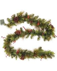 deal on philips 9ft prelit decorated artificial pine