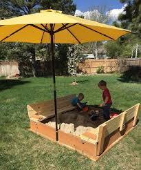 Backyard Sandbox Ideas 25 Best Sandbox Diy Ideas On Pinterest Sandbox Ideas Backyard