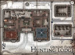 hunting lodge floor plans the red epic maps by jared blando u2014 the hunting lodge ground