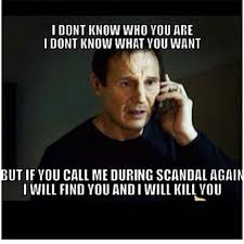 Who Are You Meme - 30 perfect scandal memes to prepare you for season four tv