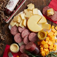 summer sausage and cheese gift box gift purchase our gourmet