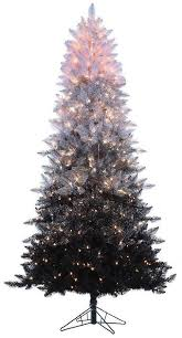 sterling 7 1 2 ft pre lit ombre spruce artificial tree