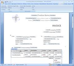 10 best images of patient invoice template medical records
