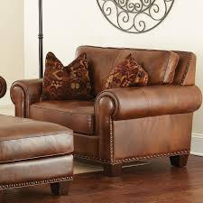 leather chair and a half with ottoman luxury leather chair and a half with ottoman in home decor ideas