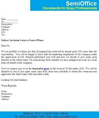 invitation letter to chief executive officer ceo