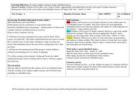 embedded clauses by annamwalsh1 teaching resources tes