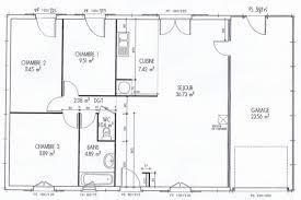plan de maison plein pied gratuit 3 chambres plan de maison plain pied 3 chambres gratuit with plan de