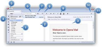 how to layout a email mail tutorial the opera mail layout