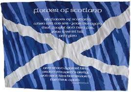 flower of scotland saltire st andrew u0027s flag paper napkins