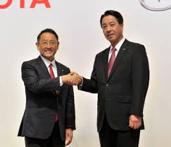 mazda motor corp toyota mazda agree on 1 6 billion tie up will cooperate on evs