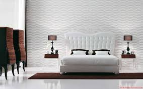 Modern White Queen Bed Interior Design Ideas Well Liked High Tufted Headboard For White