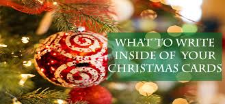 what to write inside of your christmas cards jam blog