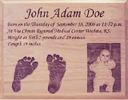 baby plaques personalized gallery