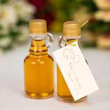 maple syrup wedding favors maple syrup wedding favors of 24 40ml gallone glass