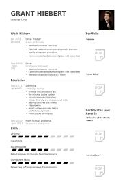 Working Student Resume Mcdonalds Resume Resume Templates