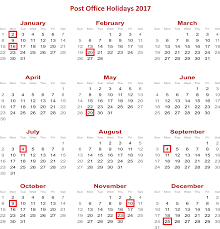 usps holidays federal holidays in 2017 usps holdmail service
