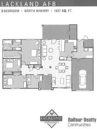 lackland afb north wherry floor plans