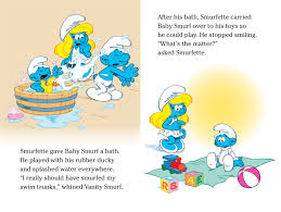 cry baby smurf book peyo official publisher