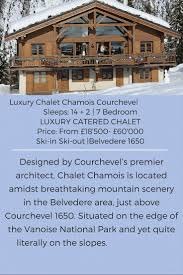 62 best luxury catered chalets courchevel france images on