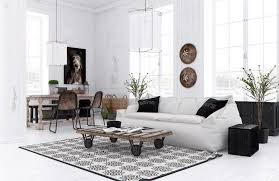 White Living Room Glass Cabinets Living Room Stone Wall Modern Creative Living Room Decorative